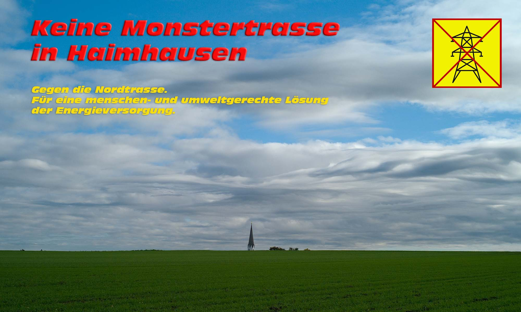 Monsterstromtrasse Haimhausen