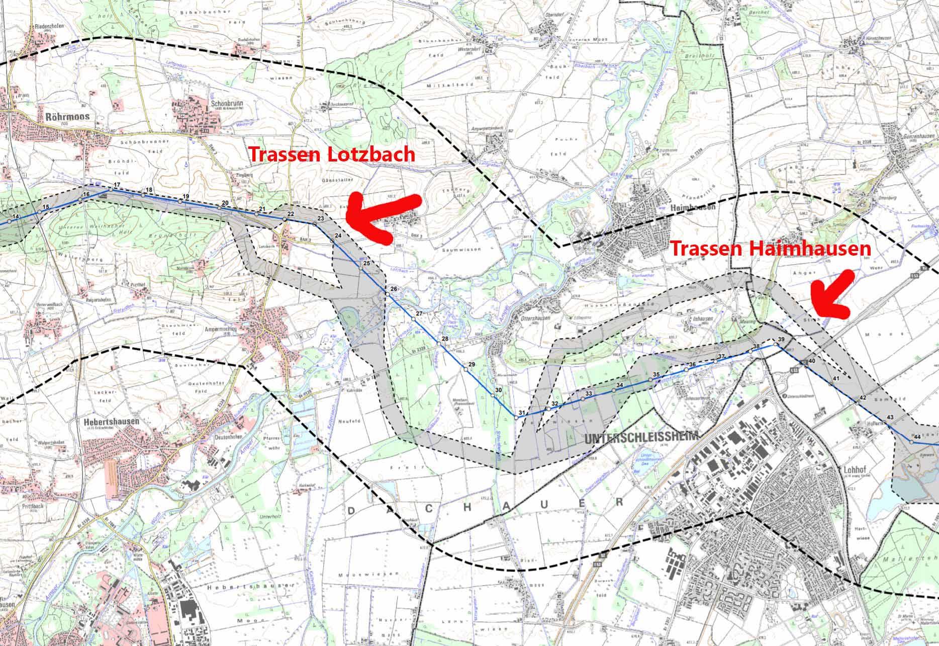 Tennet Trassen Lotzbach Haimhausen 2