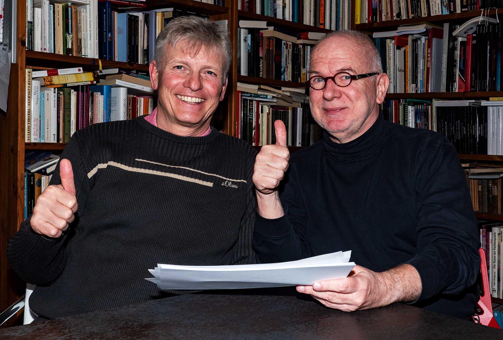 Herbert Groß und Michael Kausch